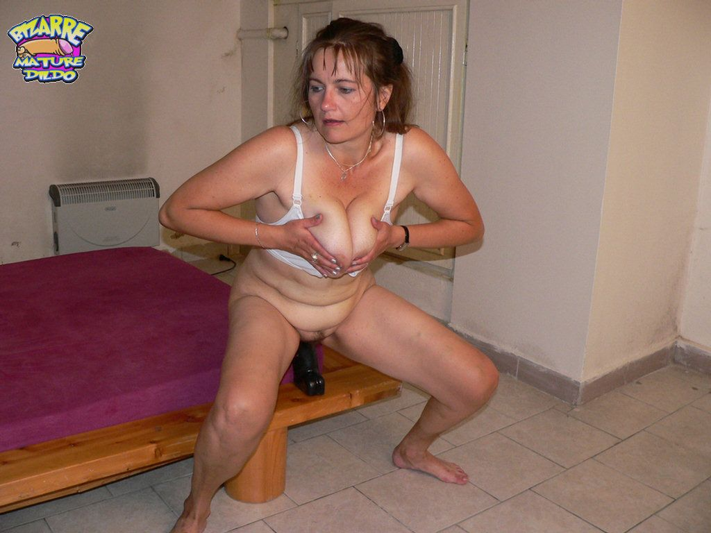 dildo sex mature Bizarre